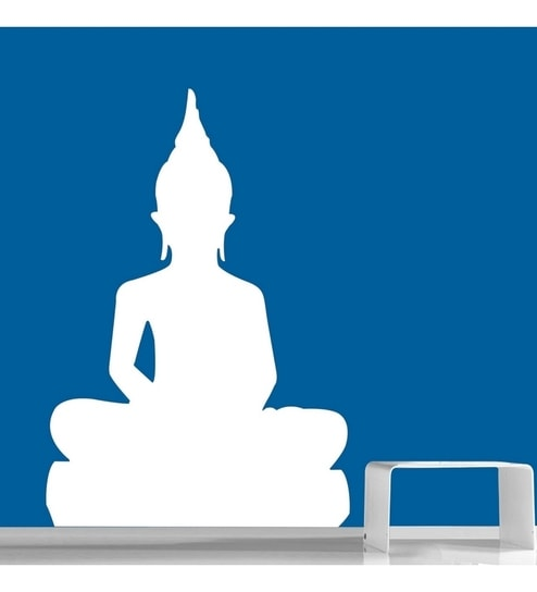 creative width lord buddha wall sticker decalcreative width