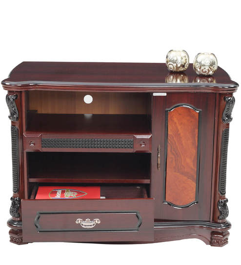 new style c5357 30ed7 Lotus TV Unit in Rosewood Finish by RoyalOak