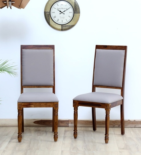 54f05700fb Louis Solid Wood Dining Chair (Set of 2) in Provincial Teak Finish by  Amberville