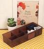 Lock&Lock Plastic Brown Inplus Tray Drawer Organiser