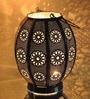 Logam Darwin Blue & White Metal Lantern