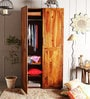 Freemont Two Doors Wardrobe in Provincial Teak Finish by Woodsworth