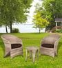 Lovely Two Seater Outdoor & Garden Set by Alcanes