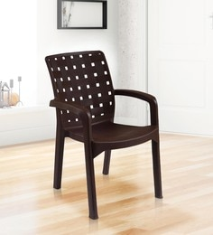 Exceptionnel Luxury Plastic Chair In Brown Colour