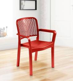 Luxury Chair In Red Colour