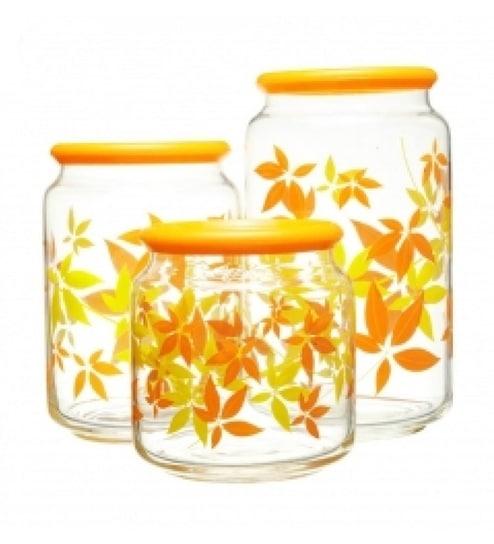 Luminarc Portrondo Food Storage Jar Set Of 3 by Luminarc Online