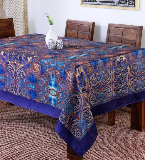 7b832313885 Buy Polyester Multicolour Table Cloth Online - Abstract Table Cloths -  Dining   Bar - Dining   Bar - Pepperfry Product