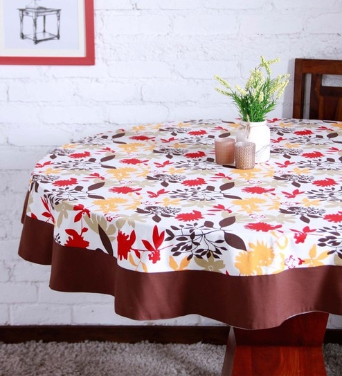 b24728d8eff Buy Cotton Multicolour Table Cloth Online - Abstract Table Cloths - Dining    Bar - Dining   Bar - Pepperfry Product