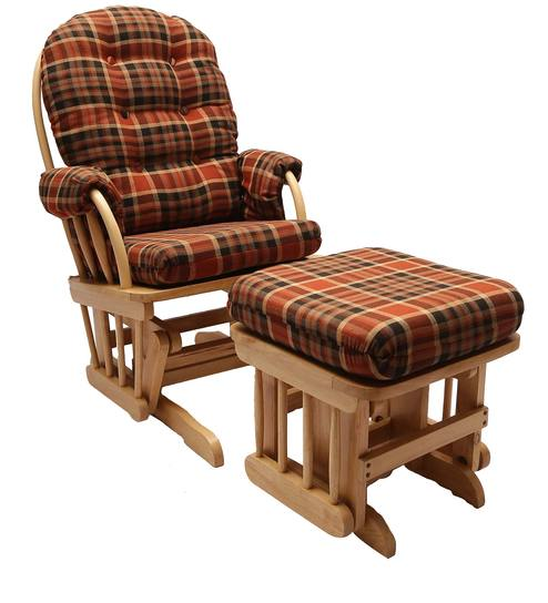 Buy Lux Relax Chair with Glide On Ball Bearing with Locking System Gl Vase Melted Over Wood on