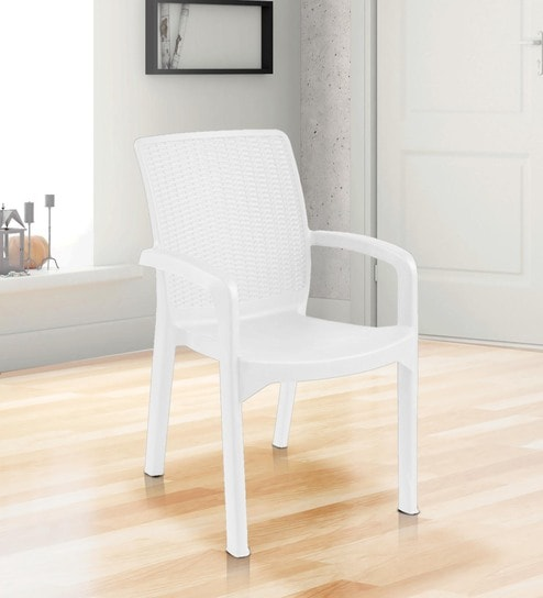 Luxury Chair In White Colour - 1622019
