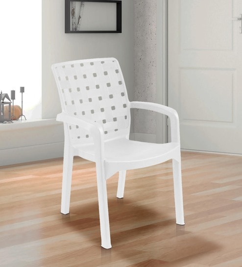 Luxury Chair In White Colour