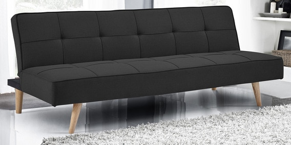 official photos cb9ff 0d8ad Luiz Sofa Cum Bed In Charcoal Grey Colour by Mintwud