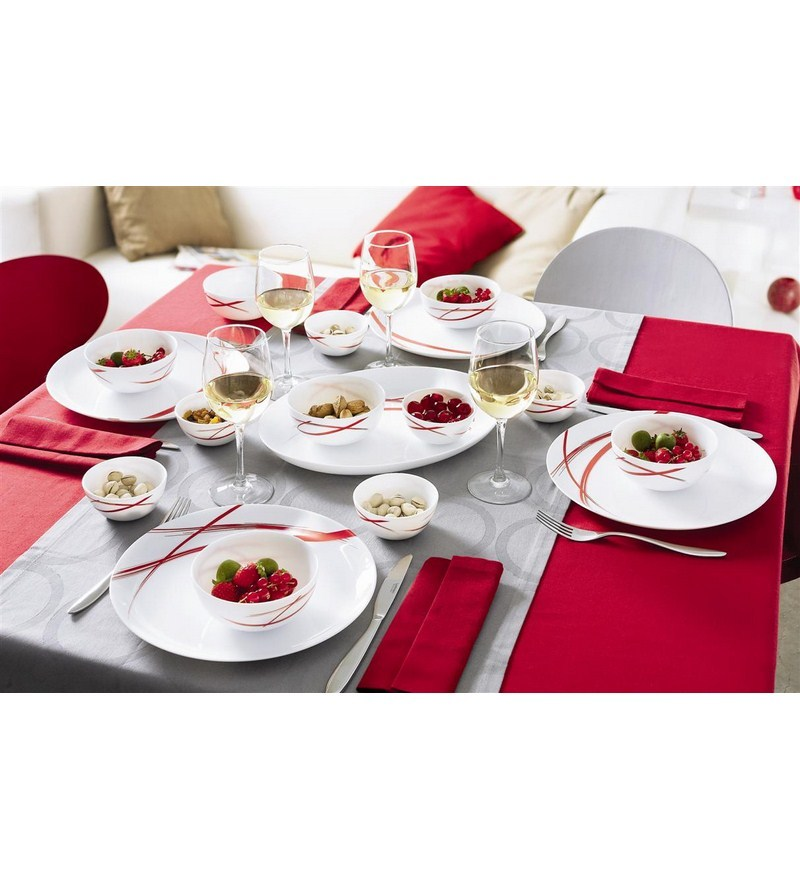 Buy Luminarc Radiant Dinner Set - 27 Pcs Online - Glass ...