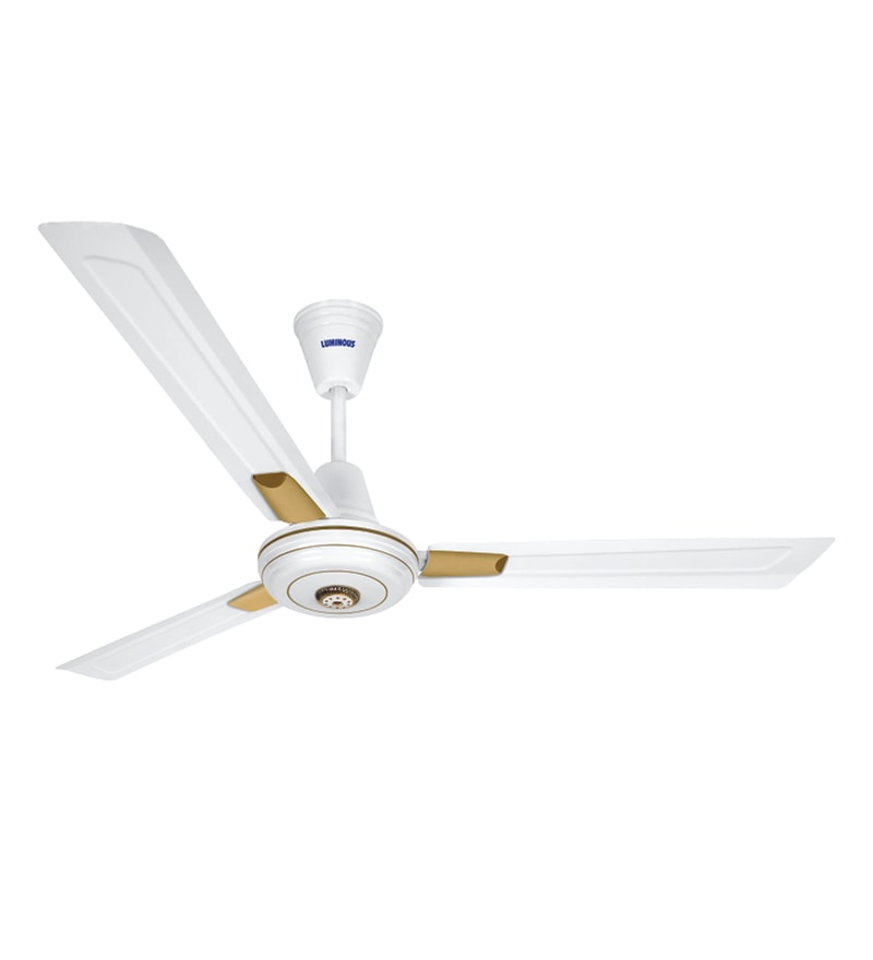 Luminous Lum Krazy 1200 mm White Ceiling Fan
