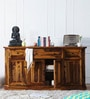 Ludovic Sideboard in Honey Oak Finish by Amberville