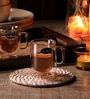 Luigi Bormioli Glass 85 ML Coffee Cup - Set of 2