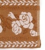 Golden Cotton 16 x 24 Hand Towel - Set of 2 by Lushomes