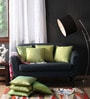 Lushomes Green Polyester 16 x 16 Inch Cushion Covers - Set of 10