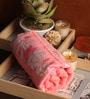 Lushomes Pink Cotton 24 x 48 Bath Towel