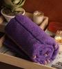Purple Cotton 30 x 60 Bath Towel by Lushomes