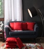 Lushomes Red Polyester 16 x 16 Inch Cushion Covers - Set of 10