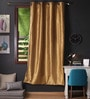 Strong Ground Polyester 90 x 54 Inch Twinkle Star 8 Eyelets Door Curtain with Blackout Lining - Set of 2 by Lushomes