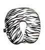 Lushomes Tiger Skin Printed Polyester White Neck Pillow