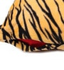 Lushomes Yellow Polyester 12 x 12 Inch Tiger Skin Printed Cushion Covers - Set of 3