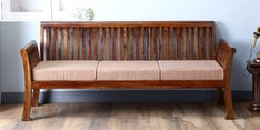 Lytton Three Seater Sofa in Provincial Teak Finish