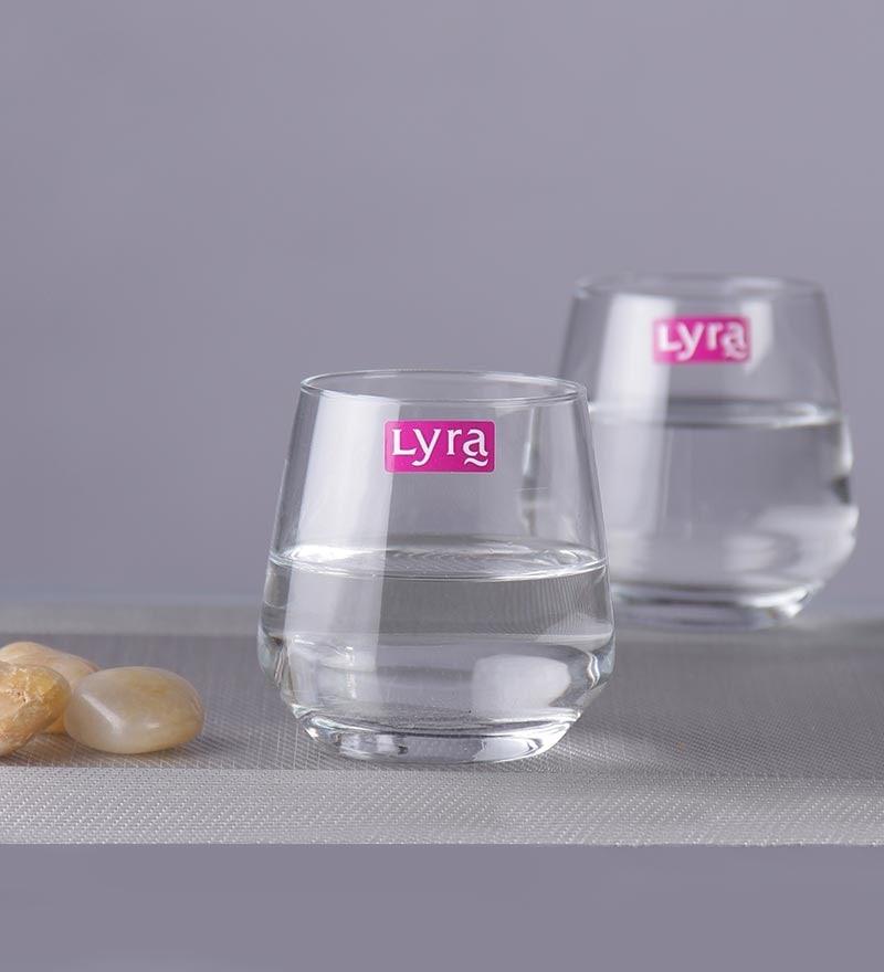 Lyra Lal 240 ML Water Glasses - Set of 6