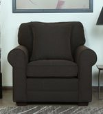 Madeira One Seater Sofa in Chestnut Brown Colour