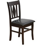 Malmo Dining Chair in Brown Colour