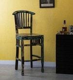 Clapton Bar Chair in Distress Finish