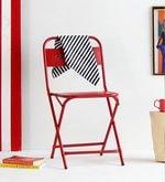 Marandoo Grunge Red Outdoor Folding Chair