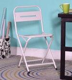 Marandoo Grunge White Outdoor Folding Chair