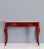 Margaret Console Table in Honey Oak Finish