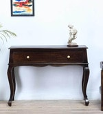 Margaret Console Table in Warm Chestnut Finish