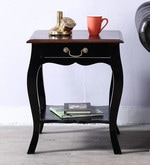 Margaret End Table in Dual Tone Finish