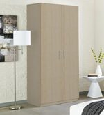 Marsden Two Door Wardrobe in Asian Maple Finish