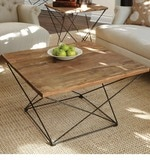 Mathew Home Edition Coffee Table in Black & Brown Colour