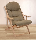 Mazda Leisure Folding Chair in Light Brown Colour