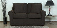 Madeira Two Seater Sofa in Chestnut Brown Colour