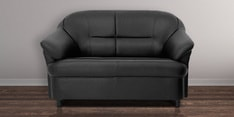 Madisson Two Seater Sofa in Black Colour