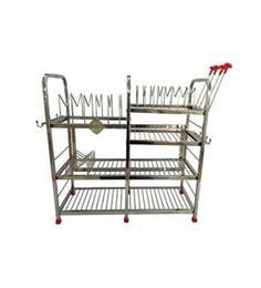 Maharaja Steel Kitchen Dish Rack - 1655135