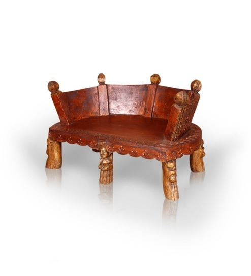 Low Height Carved Sofa