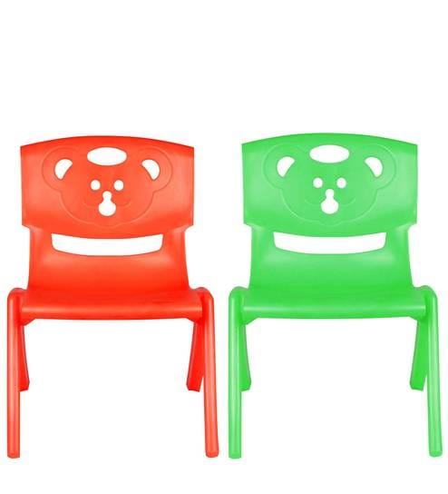 Strange Magic Bear Chair Set Of 2 In Red Green Color By Sunbaby Onthecornerstone Fun Painted Chair Ideas Images Onthecornerstoneorg