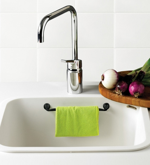 Magnetic Dish Cloth Sink Holder For Granit And Corian Sinks