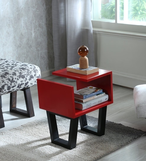 Mainstay Coffee Table.Mainstay Maze Coffee Table In Red Finish By Lycka