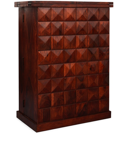 Buy Malta Big Bar Cabinet By Inliving Online Contemporary Bar Cabinets Bar Furniture Pepperfry