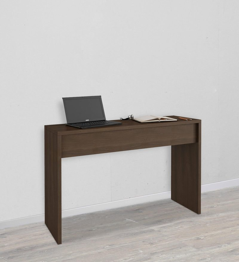 Machi Study Desk in Tobacco Finish by Mintwud